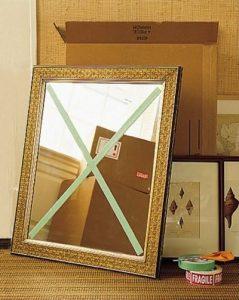 miroir déménagement