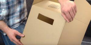 poignées cartons déménagement