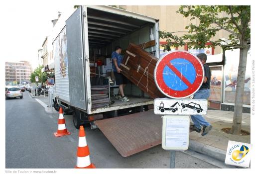 stationnement déménagement