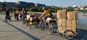 déménager écolo en vélo