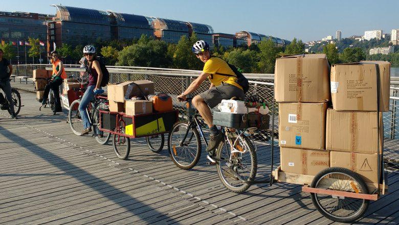 déménagement vélo