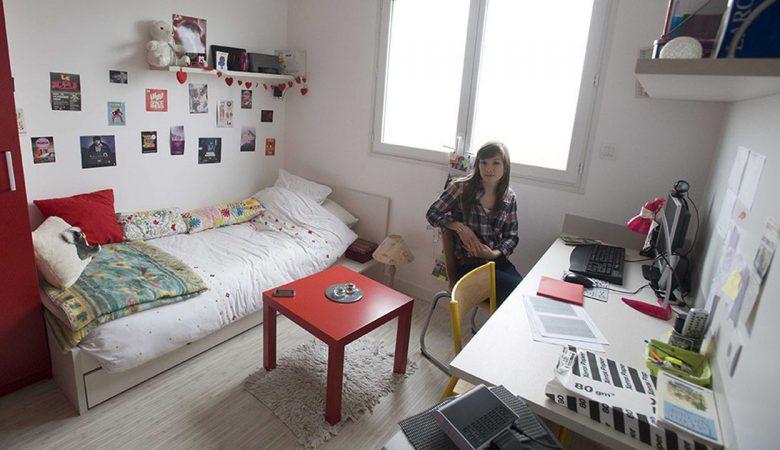 déménager dans un logement étudiant