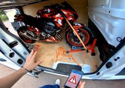 demenagement moto
